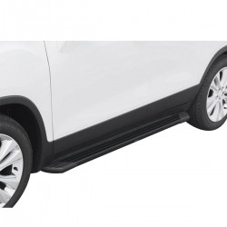 Estribo SUV 2 Bepo alumínio preto Sportage 2011 a 2016