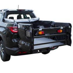 Extensor de caçamba Fiat Toro 2017 2018 2019