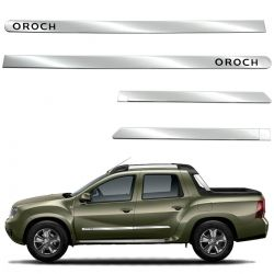Friso lateral cromado Duster Oroch 2016 a 2020