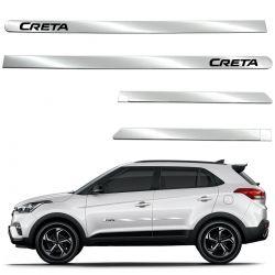 Friso lateral cromado Hyundai Creta 2017 2018 2019