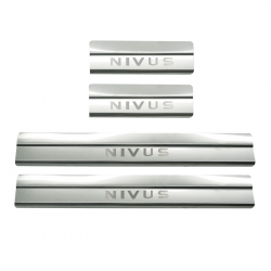 Protetor de soleira aço inox Nivus 2021