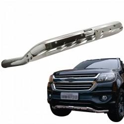 Protetor dianteiro baixo Bepo cromado S10 2012 a 2020