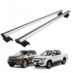 Rack de caçamba em alumínio Nova S10 2012 a 2020