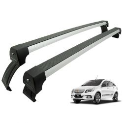 Rack de teto Agile 2010 a 2014 Long Life Sports anodizado