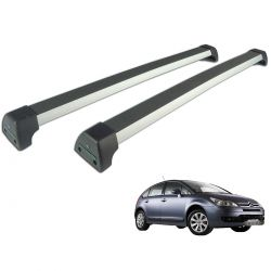 Rack de teto C4 Hatch 2009 a 2014 Long Life Sports anodizado