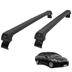 Rack de teto C4 Pallas 2008 a 2013 Long Life Sports preto