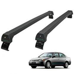 Rack de teto Civic 2001 a 2006 Long Life Sports preto