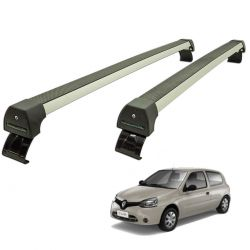 Rack de teto Long Life Sports Clio 2004 a 2016 2 portas