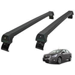 Rack de teto Cobalt 2012 a 2020 Long Life Sports preto