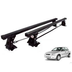 Rack de teto Corsa 4 portas até 2003 ou Classic 2005 a 2015 Long Life aço