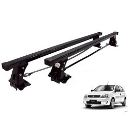 Rack de teto Corsa Hatch ou Sedan 2004 a 2012 Long Life aço