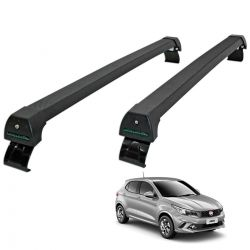 Rack de teto Fiat Argo 2018 2019 2020 Long Life Sports preto