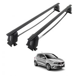 Rack de teto Fiat Argo 2018 2019 2020 Long Life Steel