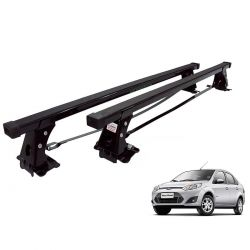 Rack de teto Fiesta Hatch ou Sedan 2003 a 2014 Long Life aço