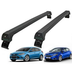 Rack de teto Focus 2014 a 2019 Long Life Sports preto
