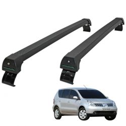Rack de teto Livina 2010 a 2015 Long Life Sports preto
