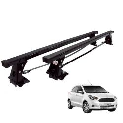 Rack de teto Novo Ka hatch ou sedan 2015 a 2020 Long Life aço