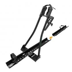 Rack de teto para bicicleta Long Life Multi Bike Lock com braço preto