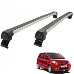 Rack de teto Picanto 2008 a 2011 Long Life Sports anodizado