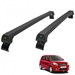 Rack de teto Picanto 2008 a 2011 Long Life Sports preto