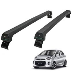 Rack de teto Picanto 2012 a 2017 Long Life Sports preto