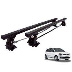Rack de teto Polo Hatch ou Sedan 2003 a 2015 Long Life aço