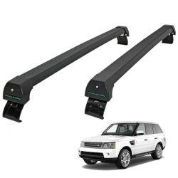 Rack de teto Range Rover Sport 2005 a 2013 Long Life Sports preto