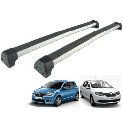 Rack de teto Long Life Sports Sandero 2015 a 2022 ou Logan 2014 a 2022