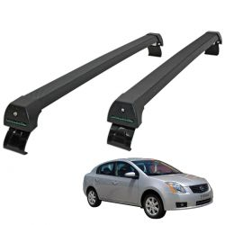 Rack de teto Sentra 2006 a  2013 Long Life Sports preto