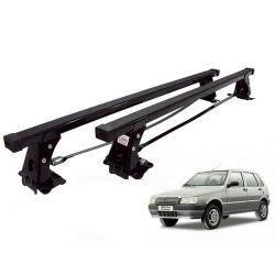 Rack de teto Uno Mille 1984 a 2013 4 portas Long Life aço