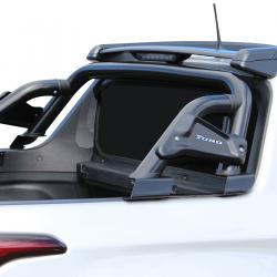 Santo antônio Bepo Adventure 3 preto Fiat Toro 2017 a 2022