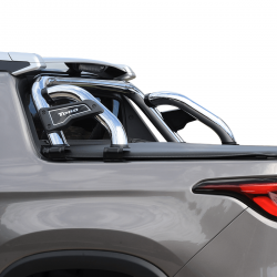 Santo antônio cromado Solar Exclusive Fiat Toro 2017 a 2021