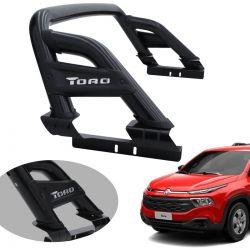 Santo antonio Track ST preto Fiat Toro 2017 a 2021