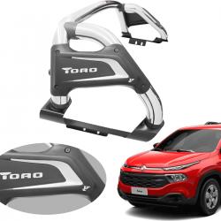 Santo antônio VF Premium cromado Fiat Toro 2017 a 2021