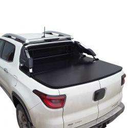 Tampão de aço capota elétrica Fiat Toro Ranch 2019 2020 2021