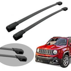 Travessa de teto Jeep Renegade 2016 a 2020 Bepo Elite preto
