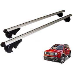 Travessa rack de teto Belluno Kiussi com chave Jeep Renegade 2016 a 2021