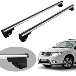 Travessa rack de teto Bepo Eros polido Freemont 2012 a 2016 ou Dodge Journey 2010 a 2018