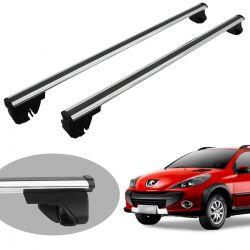 Travessa rack de teto Bepo Eros polido Peugeot 206 SW 207 SW 207 Escapade 307 SW