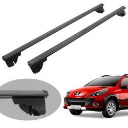 Travessa rack de teto Bepo Eros preto Peugeot 206 SW 207 SW 207 Escapade 307 SW