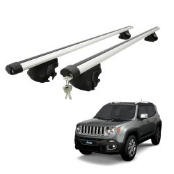 Travessa rack de teto larga com chave Jeep Renegade 2016 2017 2018