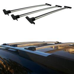 Travessa rack de teto Trailblazer 2013 a 2019 fixação original kit 3 peças