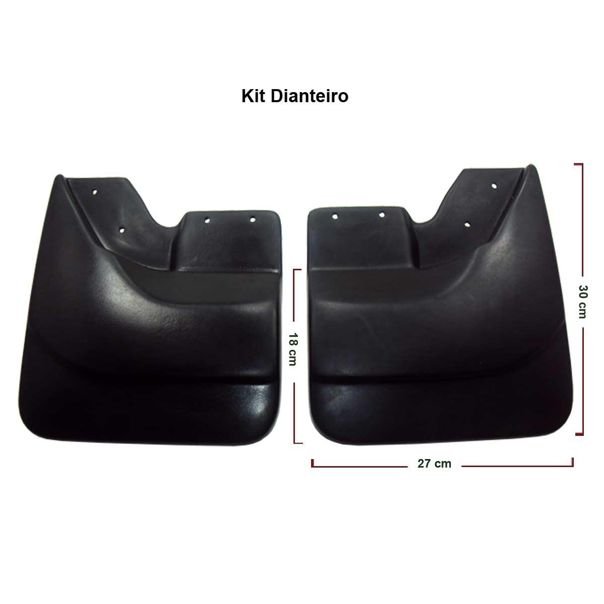 Apara barro lameira Dfender S10 1995 a 2011 sem alargador de paralama