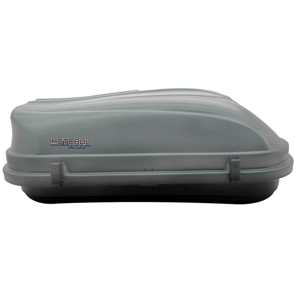 Bagageiro de teto maleiro com chave 510 litros cinza - LIGHT