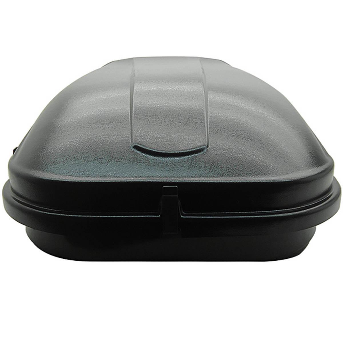 Bagageiro de teto maleiro com chave Motobul 510 litros preto