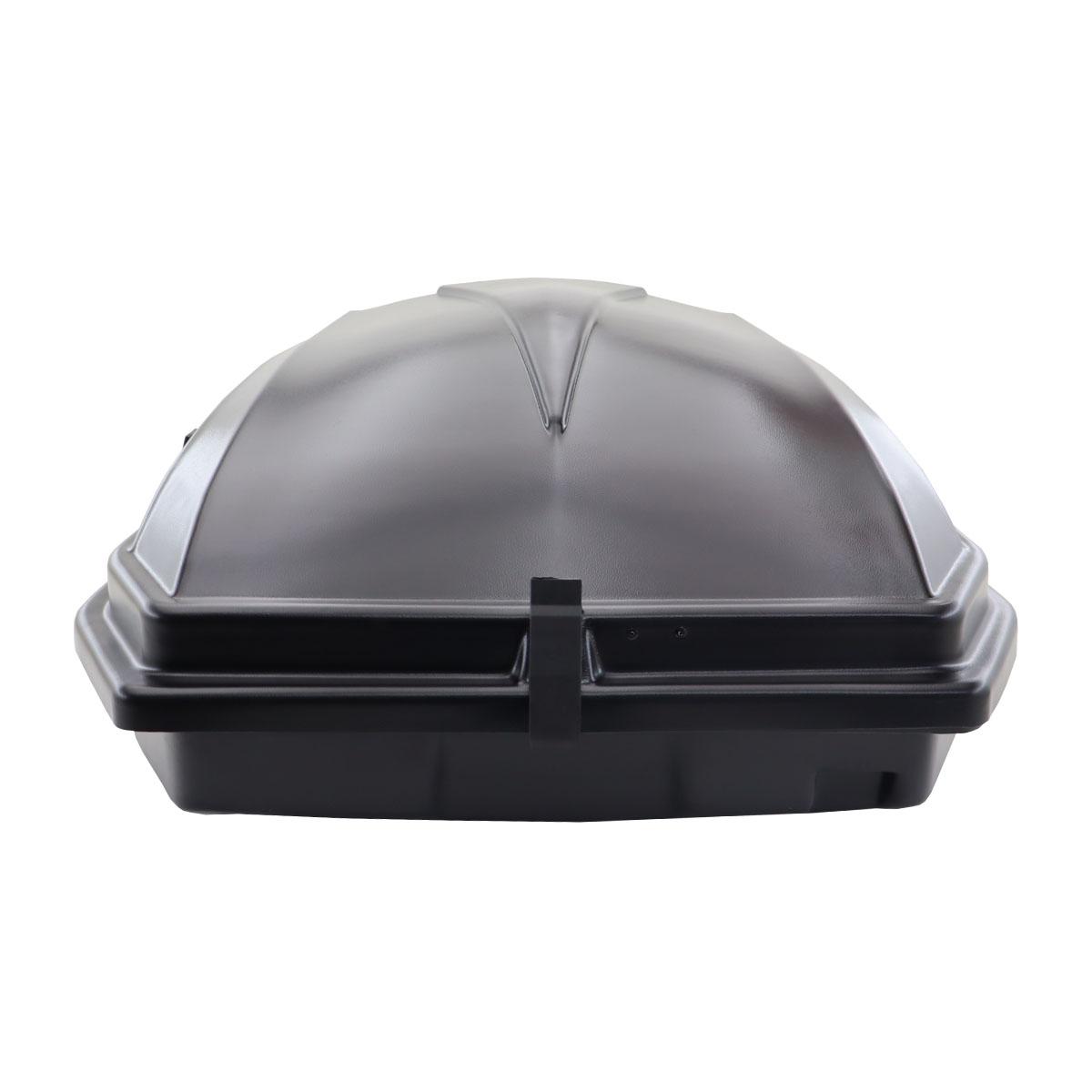 Bagageiro de teto maleiro com chave Motobul 270 litros preto