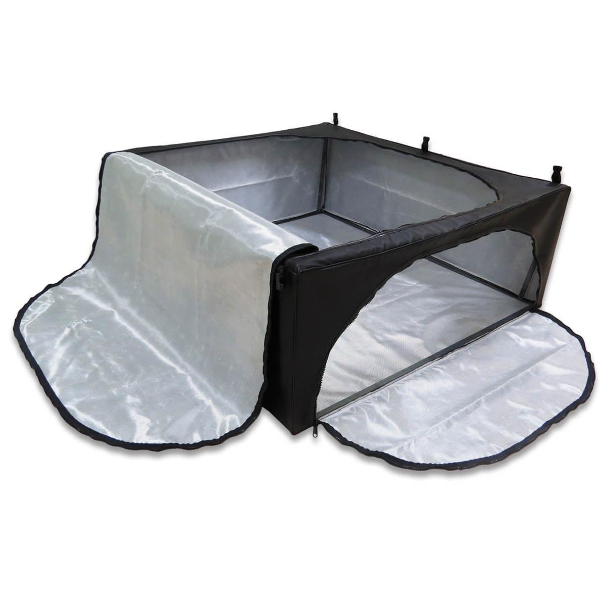 Bolsa caçamba estendida horizontal Amarok cabine dupla 2011 a 2021