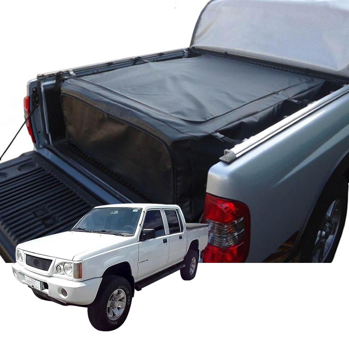 Bolsa caçamba estendida horizontal L200 GL 1999 a 2005 ou L200 GLS 1999 a 2007