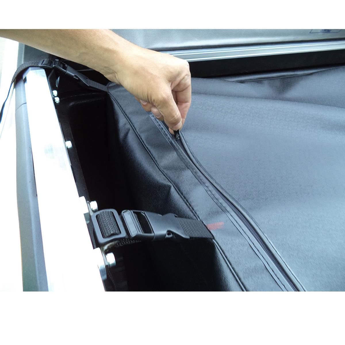 Bolsa caçamba estendida horizontal L200 Sport 2004 a 2007 ou L200 Outdoor 2007 a 2012