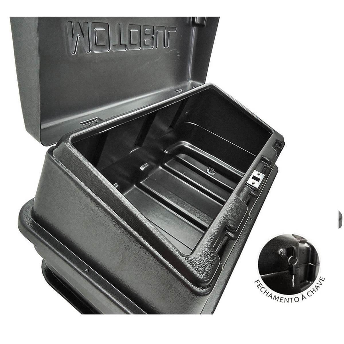 Caixa para caçamba com chave L200 GL 1999 a 2005 ou L200 GLS 1999 a 2007